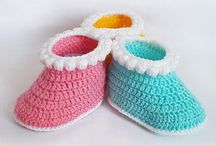 Crochet Patterns - Baby Booties  / Boots / Shoes