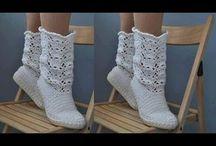 πλεχτα παπούτσια