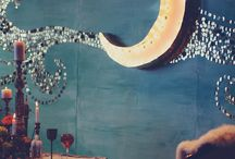 Moon and Star / Moon and star decor
