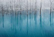 Buz Tutanlar / Doğa olayları bir garip oluyor. Ama bu güzellikleri izlemek paha biçilmez...