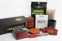 Neat Crates / The perfect gifts for a man. Great from groomsmen, anniversaries, birthdays, or just because!