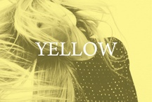 yellow / by Left on Houston
