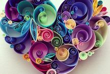 Quilling / Quilling is an Art with different colors of paper and shapes...