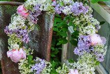 Ghirlande, fiocchi e confezioni/ ribbon, bow, wreath and gift boxes