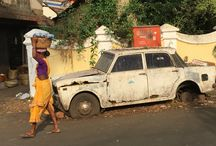 Panaji, Goa / Explore the colourful street of Portuguese flavoured Panaji in Goa, India.