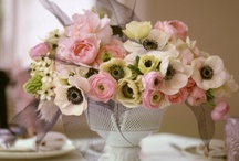 Wedding - Flower Inspiration / by LoveBirds Sweets