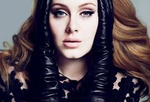 ADELE♡ / The best singer ever • My favorite♡ / by Pamela Uribe