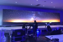 Integrated ICT / LED Screen, Sound, Lighting Staging Event & Set