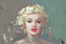 Amazing portrait paintings