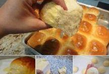 pães e massas