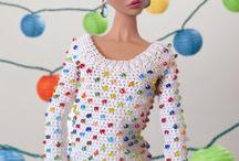 свитер кукле