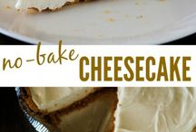 NO BAKE Cheesecake.