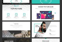 Template design Power Point Creative