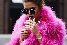Fur coats inspiration desk