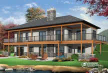 Architectural Ideas / House plans et al / by Kt Couture