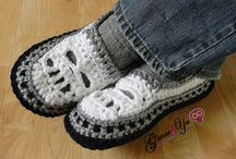 Crochet - Shoes. / by Ashley Curry