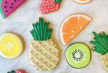 perníčky ovoce a zelenina