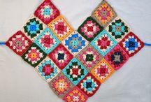 blusas crochet em quadrados