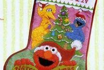 christmas borduurwerk