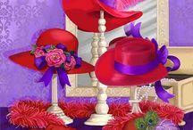 Red Hat Society / by Karen LeMore