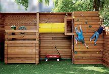 kids in de tuin
