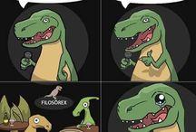 Chistes T-rex