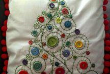 Natale disegno e ricamo