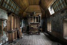 Lugares Abandonados  ~ ღ  / Lugares lindos