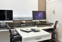 Desk for couple
