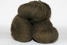 Bison Yarn / Yarns made from North American Bison winter down, as soft as cashmere yet strong and durable as the bison.