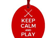 Field Hockey Christmas Ornaments / by Just Her Sports