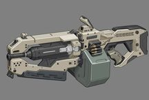 Sci fi оружие