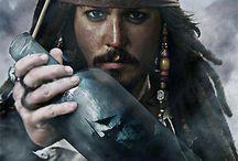 Captain Jack Sparrow / Jack Sparrow Johnny Depp Pirates of the Caribbean