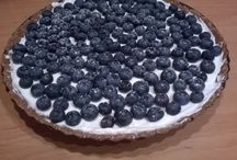 tart with mascarpone and blueberry / tart with mascarpone and blueberry