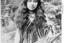 Maori women portraits
