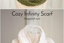 chrochet scarves
