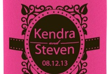 Wedding Koozies / ...whether as one koozie to remember your day or 300+ koozies as wedding favors! We got you covered!