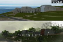 Architecture / Architectural projects and exterior views