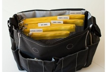 Organizational Diaper Bags / by Bellisima Baby Bags