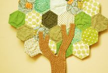 Paper Piecing Patterns / English paper piecing patterns and hexagon quilts / by FaveQuilts