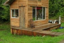 Floating Homes, Cabins, Logs