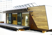 Prefabs Are Pretty Fabulous / Prefabricated home designs and inspiration.