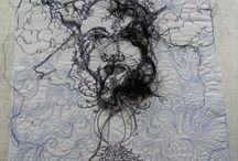 Free Motion Sewing Art / by Labedzki-Art