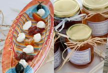 Homemade Products / At Nontas Fish Tavern in Aegina, you can buy homemade jams and marmelades, traditional greek sweets that are delicious with ice cream or yoghurt, different sauces and pies, all homemade and ready for you to take home, as a small souvenir of true Aegina essence.