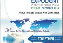 Expodent International India / Expodent India International has been official annual event of the association which is hosted mostly in the month of December by ADITI (North Zone) at Pragati Maidan a very ideal venue for international event at New Delhi.