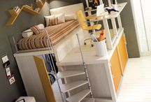 Mia's room / Beds / by Laura Camilleri