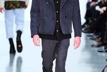 Lou Dalton Otoño-Invierno 2014 / El hombre rebelde que presta atención a los detalles, fue la principal fuente de inspiración de la colección de Lou, la cual estuvo dominada por los abrigos y las chaquetas.
