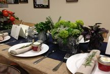Table Settings / by Maria {Box of Stolen Socks}