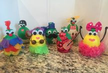 Juicekins / Fun characters and creatures you can make using our lemon and lime juice containers.