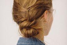 Noeuds-Knots Hair / coiffure